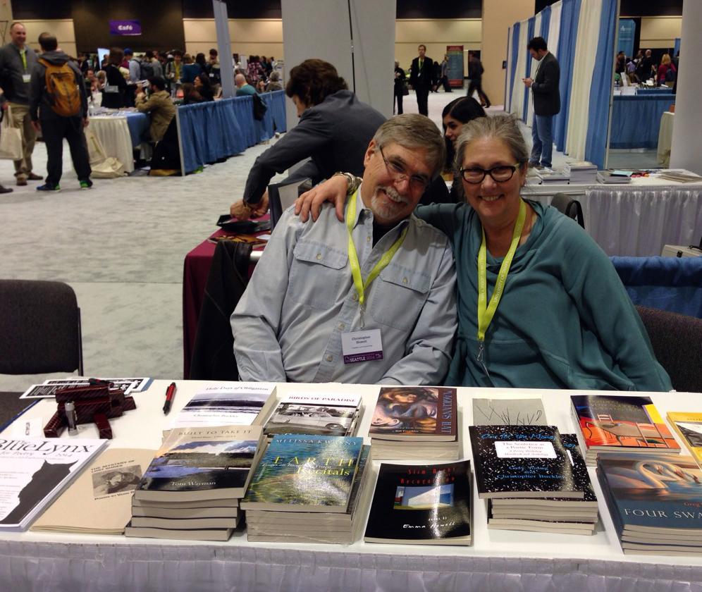Lynx House Press and Lost Horse Press at AWP 2014 Seattle
